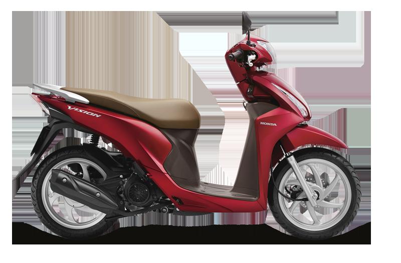 03 Giải nhì: Xe Honda Vision (Phiên bản tiêu chuẩn năm 2020)