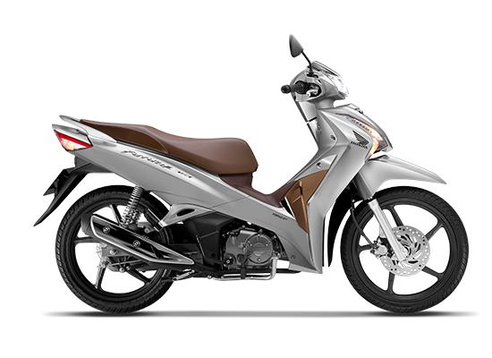 Honda Future FI 125 Phiên bản vành đúc màu bạc nâu đen