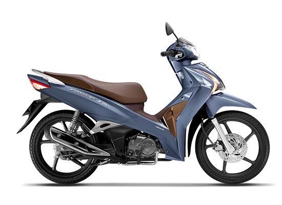 Honda Future 125 2020 Phiên bản vành đúc màu xanh nâu đen