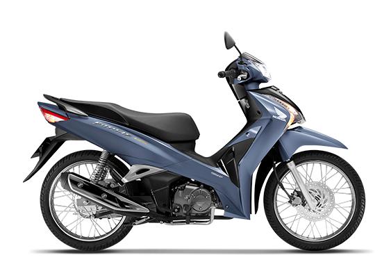 Honda Future 125 phiên bản vành nan hoamàu xanh đen