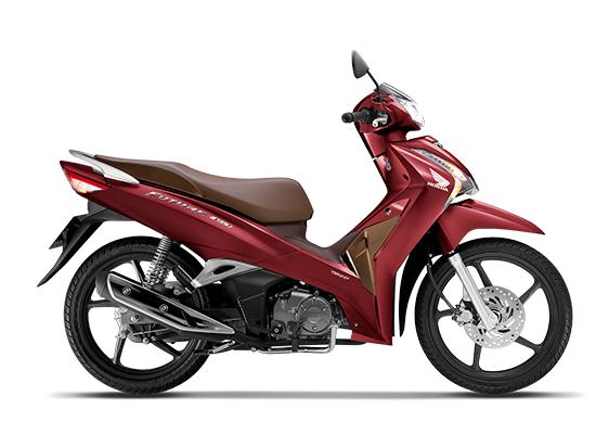 Honda Future 125 Phiên bản vành đúc màu đỏ nâu đen