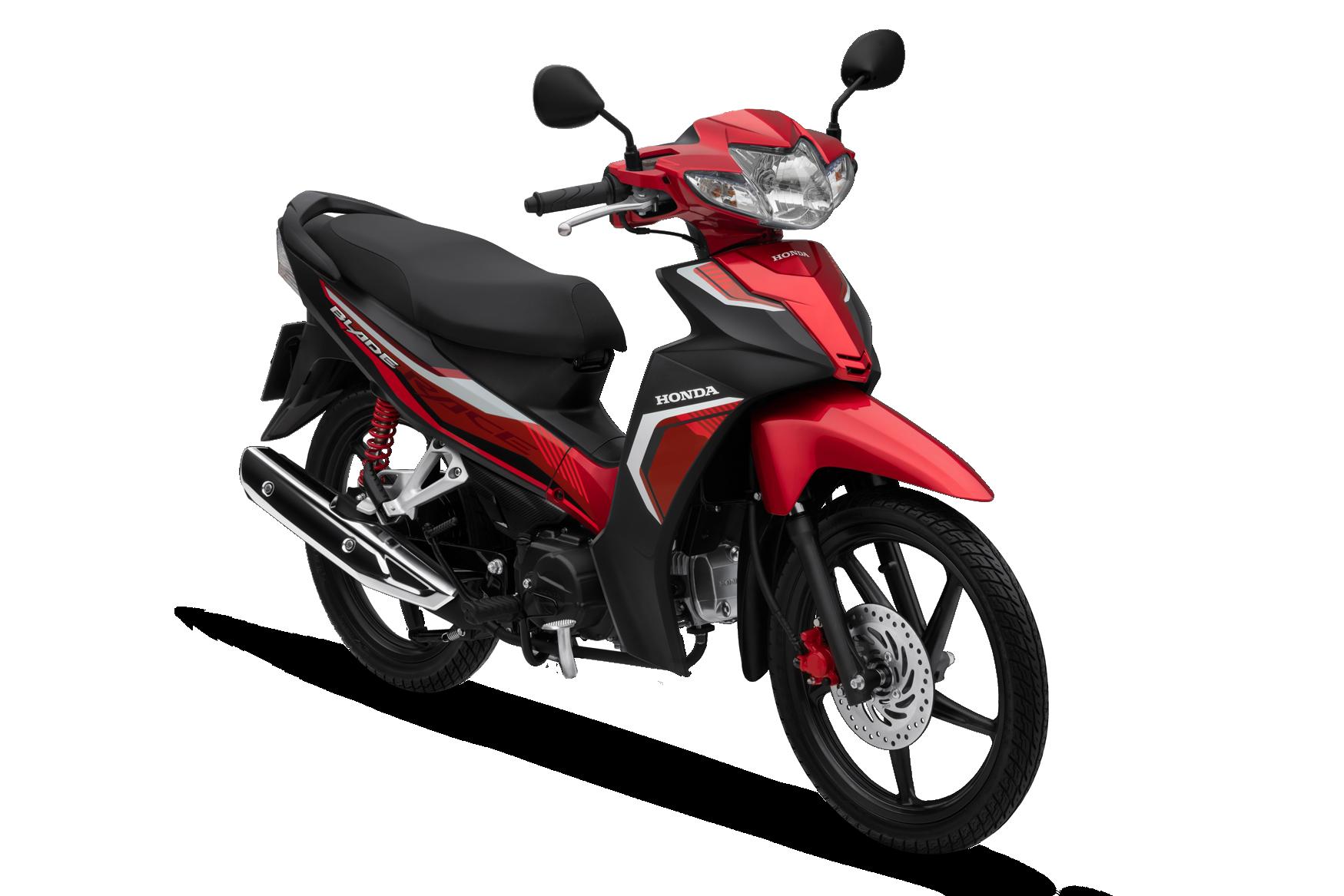 Honda Blade 2020 phiên bản thể thao vành đúc phanh đĩa màu đỏ đen