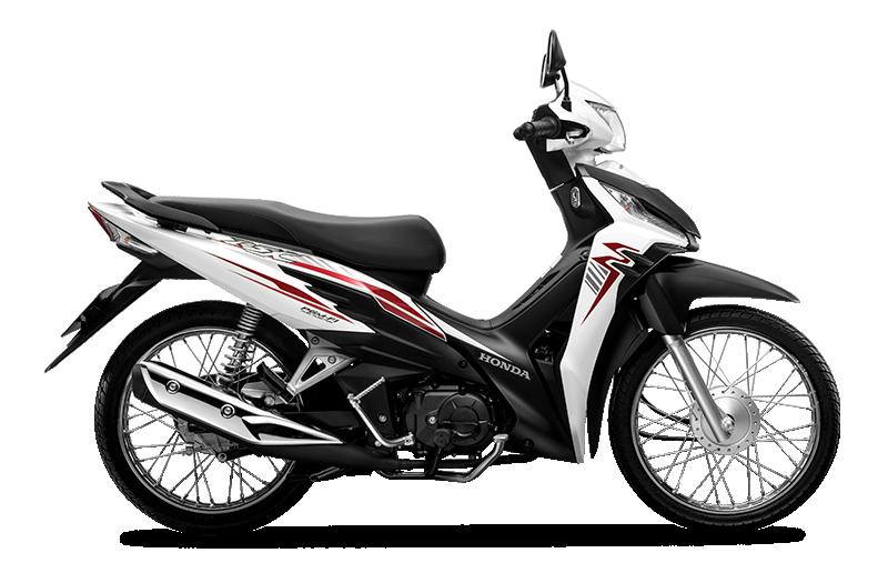 Honda RSX Phiên Bản 2020 màu Trắng Đen Vành Nan Hoa Phanh Cơ