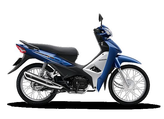 Honda Wave Alpha 110cc phiên bản mới màu xanh đậm