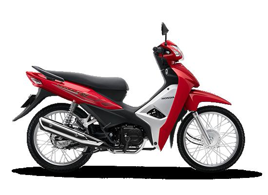 Wave Alpha 110cc phiên bản mới màu đỏ