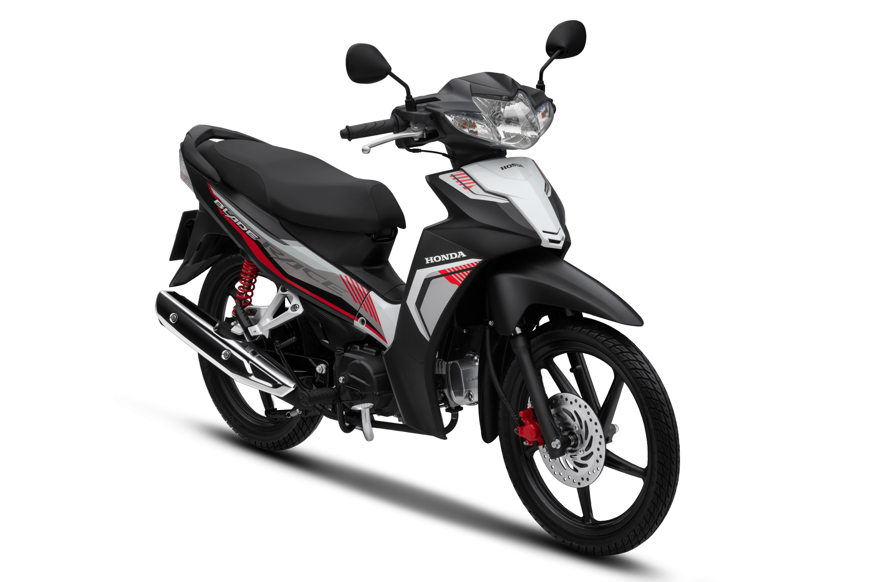 Honda Blade 2020 phiên bản thể thao vành đúc phanh đĩa màu xanh đen trắng đỏ