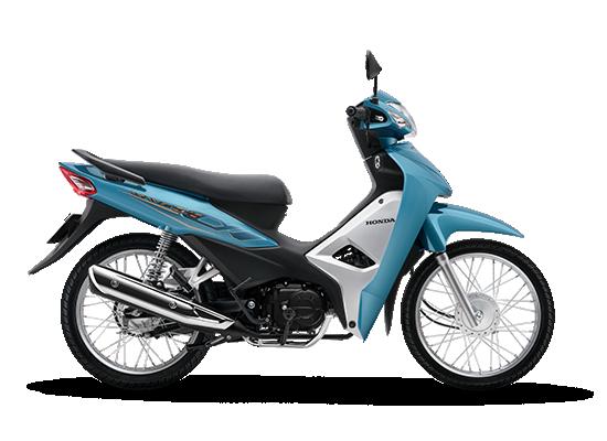 Wave Alpha 110cc mới màu xanh