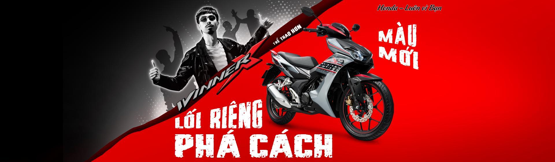 """Honda Winner X 150cc Phiên Bản Mới """"Lối Riêng Phá Cách"""""""