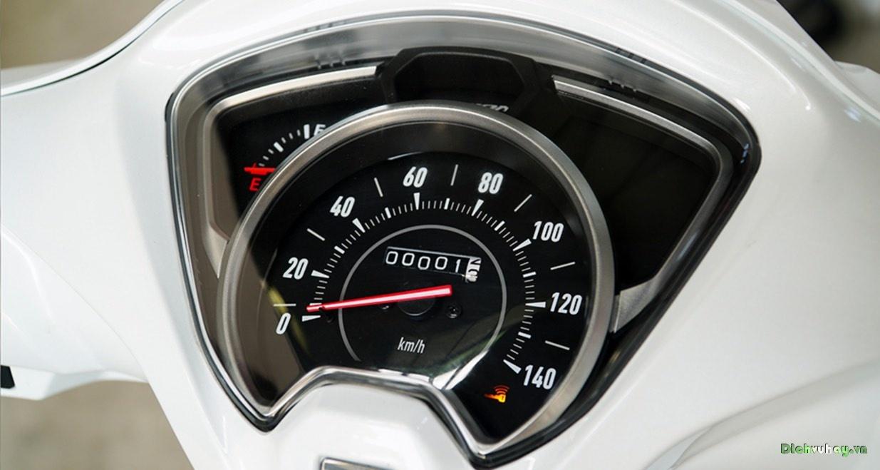 Thiết kế mặt đồng hồ Honda Vision phiên bản mới được thiết kế lại