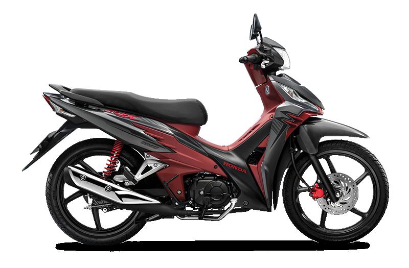 Honda RSX Phiên Bản 2020 Màu Xám Đỏ Vành Đúc Phanh Đĩa