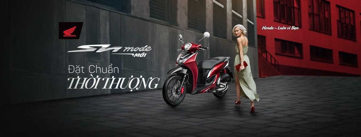 Honda SH Mode phiên bản mới được nâng cấp về đáng kể ngoại thất với cụm đèn pha dạng LED hiện đại hơn.