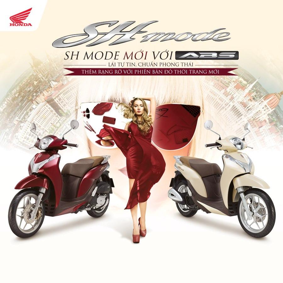 Honda SH Mode 125 với cách phối màu trang nhã hài hòa, chinh phục mọi con tim ngay từ ánh nhìn đầu tiên