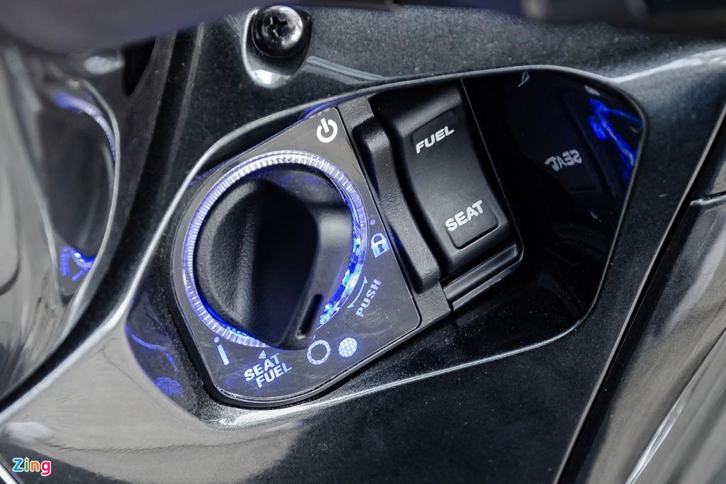 Thiết kế ổ khóa không có lỗ khóa khiến các đối tượng trộm cắp xe không thể phá khóa