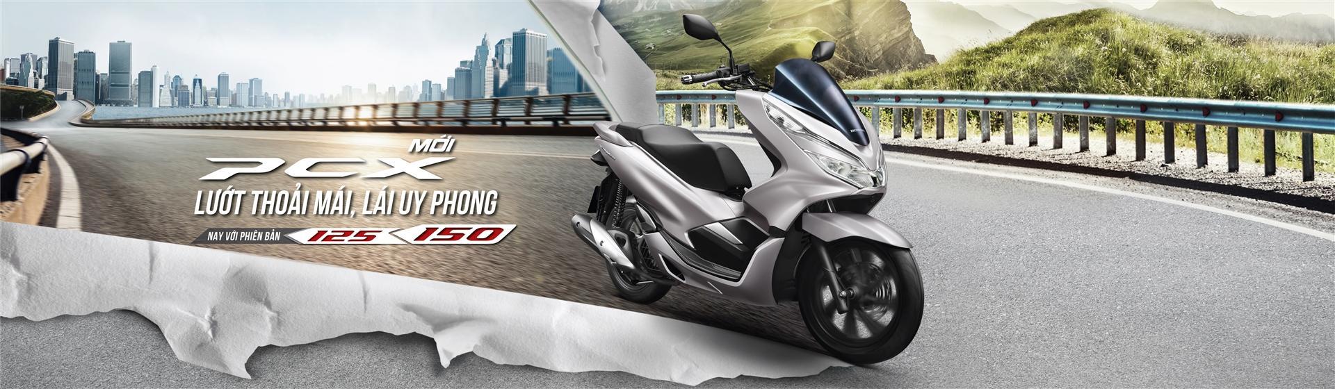 Honda PCX Mới Lướt Thoải Mái Lái Uy Phong