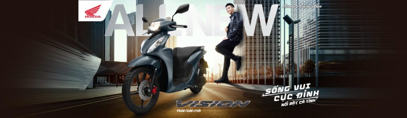 Thiết kế Honda Vision cá tính