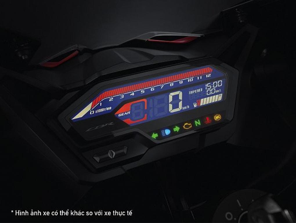 Đồng hồ kỹ thuật số LCD hiện đại