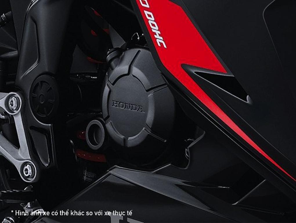 Động cơ DOHC 150cc đầy uy lực