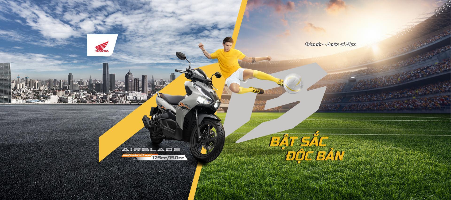 Air Blade sở hữu một thiết kế hiện đại, đột phá