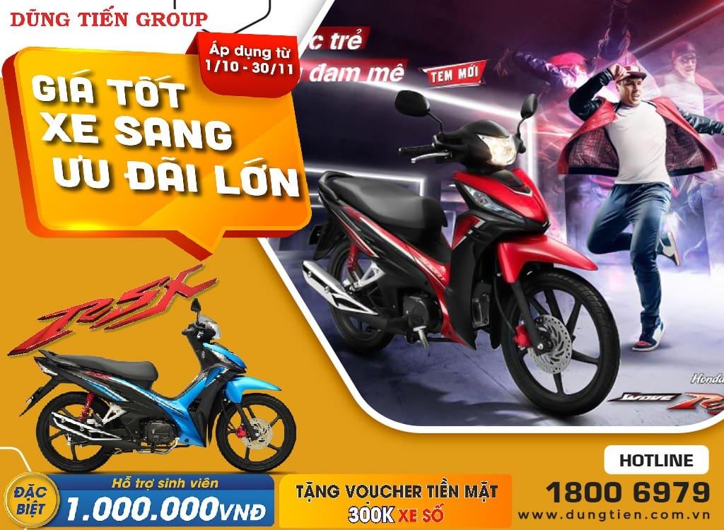 Giá xe Honda RSX tháng 10 năm 2021