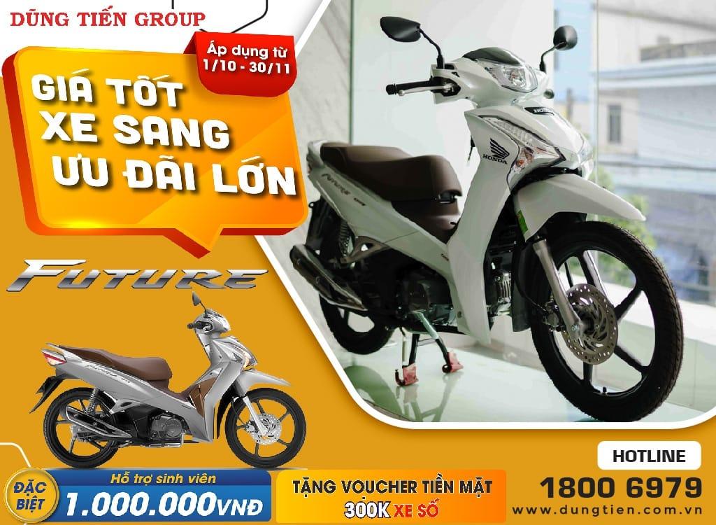 Giá xe Honda Future tháng 10 năm 2021